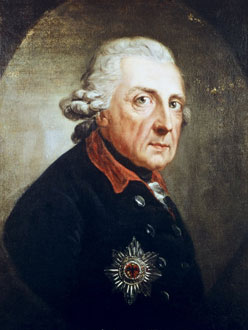 King Frederick the Great